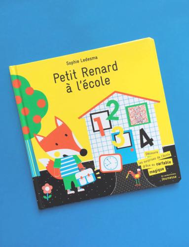 """""""Petit Renard va à l'école"""" Ed. De La MARTINIÈRE"""