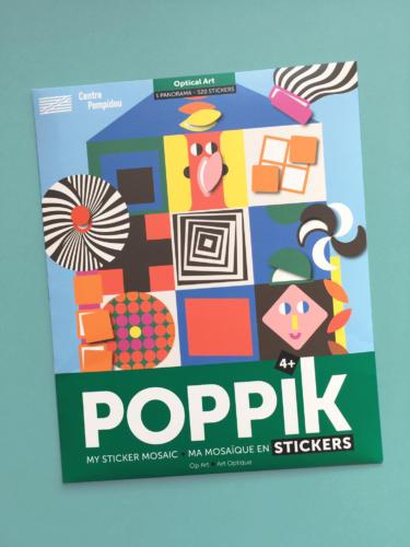 Stickers Poster Collab POPPIK CENTRE POMPIDOU